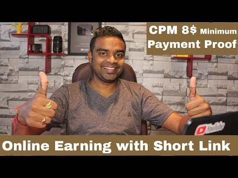 Earn Money with Short Link -  Payment Proof - 100% working and genuine Site !!!