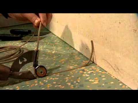 Extrem Professionelle Bodenverlegung mit WOLFF Werkzeugen - Verschweißen AR72