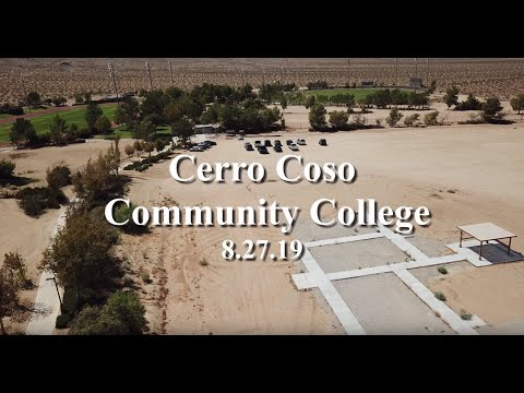 Cerro Coso Community College prior to construction 8.27.19