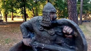РУССКИЙ ВИТЯЗЬ-БОГАТЫРЬ (памятник, скульптура на Украине)