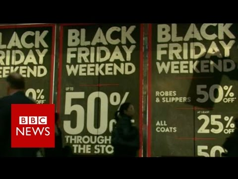 How Black Friday came to the UK - BBC News