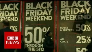 How Black Friday came to the UK   BBC News