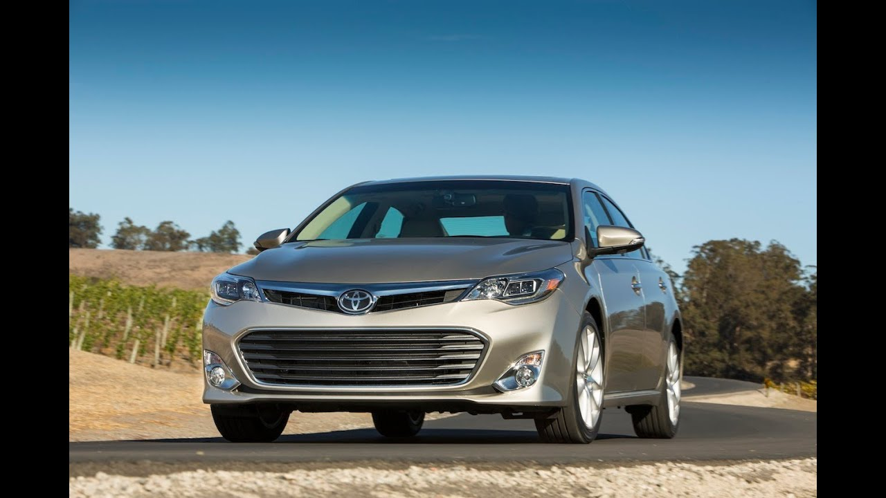 2013 Toyota Avalon V6 0 60 Mph First Drive Review Youtube