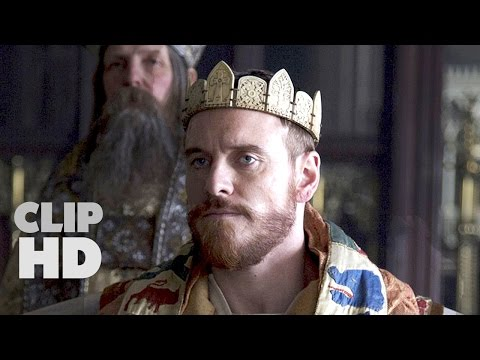 Macbeth Movie Clip - Coronation Scene 2015 Michael Fassbender, Marion Cotillard Movie HD