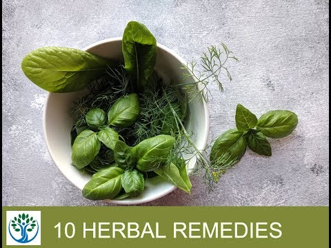 10 Herbal Remedies
