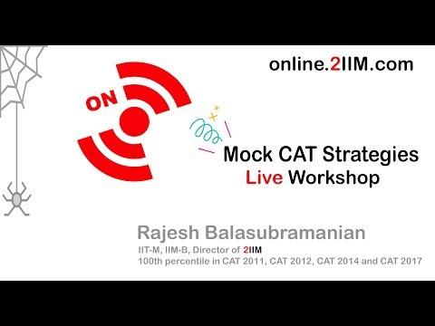 Mock CAT Strategies