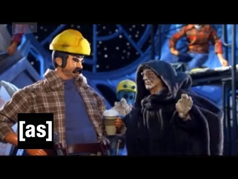 Not Fully Operational Battle Station | Robot Chicken | Adult Swim