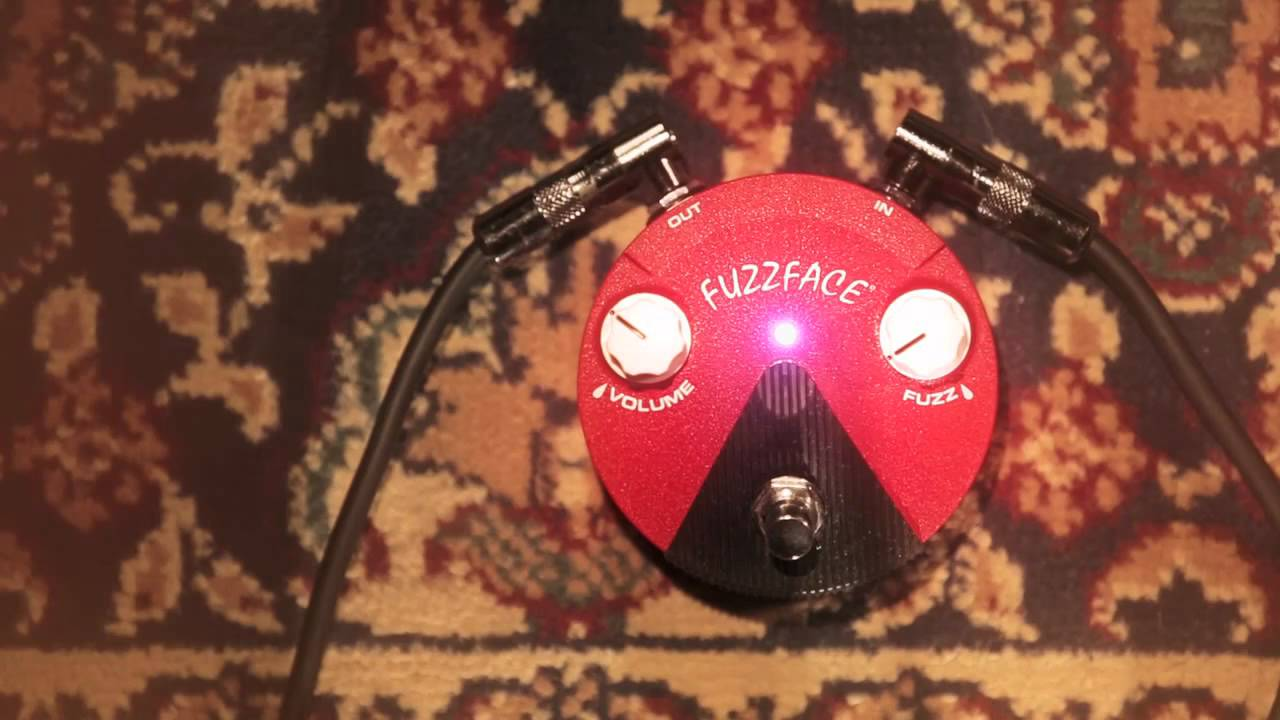 dunlop band of gypsys fuzz face mini distortion youtube. Black Bedroom Furniture Sets. Home Design Ideas