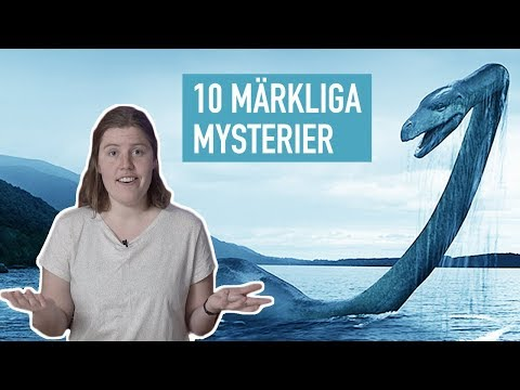 10 Mrkliga Mysterier