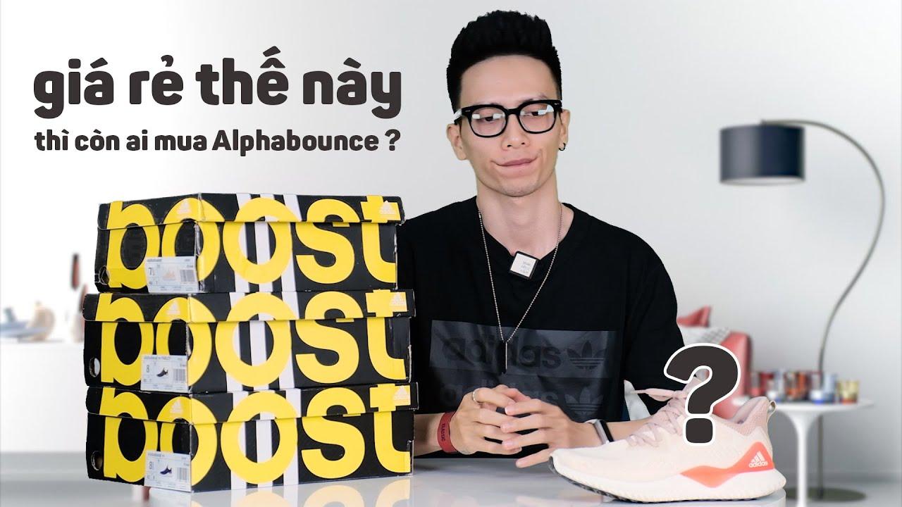 adidas phổ cập giày boost trong năm 2020 bằng Alphaboost giá rẻ