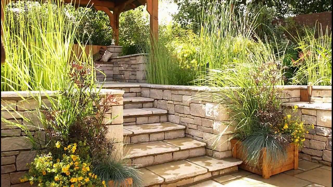 Garden Stairs Design Ideas 2018   DIY Wood Backyard ...