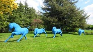 Cavalcade | Saône de Stalh, sculpture de chevaux