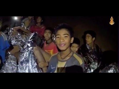 THAILAND: Vermisste Kinder sitzen weiterhin in der Höhle fest