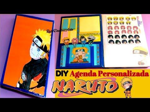 DIY NARUTO: Agenda Personalizada