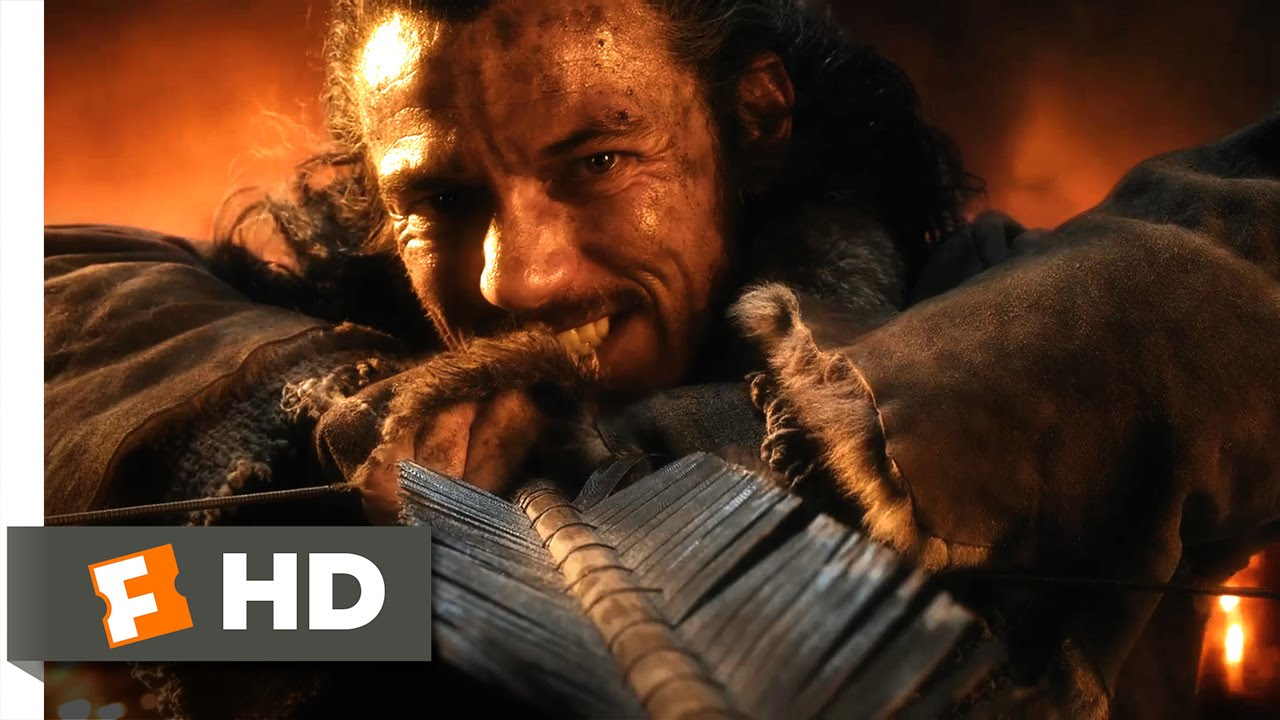 Download The Hobbit: The Battle of the Five Armies - The Fall of Smaug Scene (1/10)   Movieclips