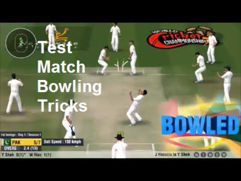 Wcc2 Test Cricket Bowling tricks How to take wickets