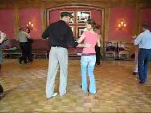 Balboa 101 lesson demo by Larry and Mindy