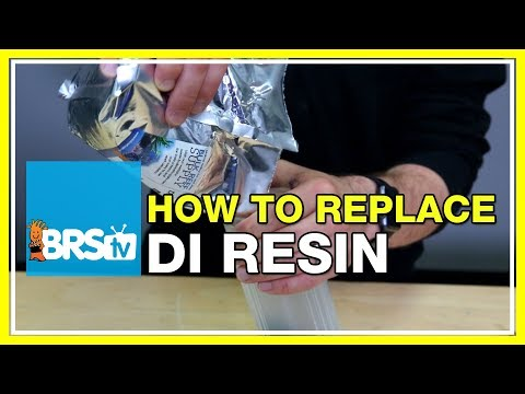 How to replace DI resin | BRStv How-To