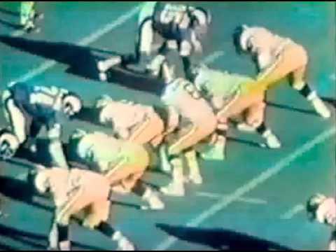 Old School Saints vs. Rams at Tulane Stadium
