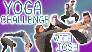 One of Erin Elyse's most viewed videos: Yoga Challenge with my brother Joshuadtv!!!