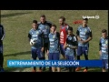 Entrenamiento a puertas abiertas de la Selección Argentina