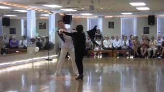 Jean & Dmitri Foxtrot 04-30-17 -- Dance Studio Lioudmila Showcase