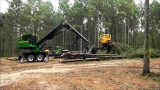 John Deere Skidder And Log Loader
