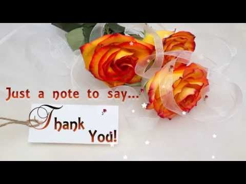 Just a note to say thank you thank you e card greetings youtube just a note to say thank you thank you e card greetings m4hsunfo