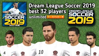 Dream league soccer 2019. best 32 players profile dat| download now and enjoy 2019 ************************************************* copy...