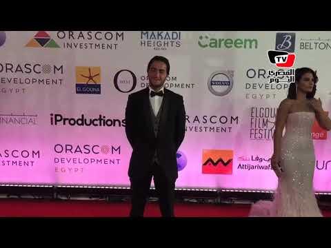 مني الشازلي وأحمد مالك وصبا مبارك في مهرجان الجونه السينمائي