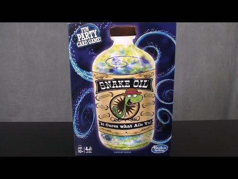 Snake Oil Game From Hasbro