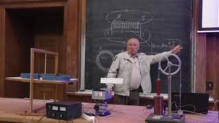 видео Фарадей и электромагнетизм