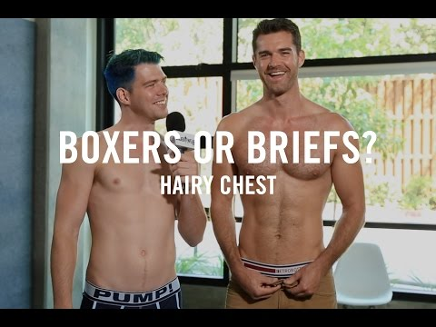 Boxers Or Briefs: Hairy Chest | Los Angeles Guys With Hairy Chests Answer Boxers Or Briefs