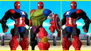 Juegos de Super Heroes para Niños - Spiderman, Hulk, Iron Man - Juegos Infantiles