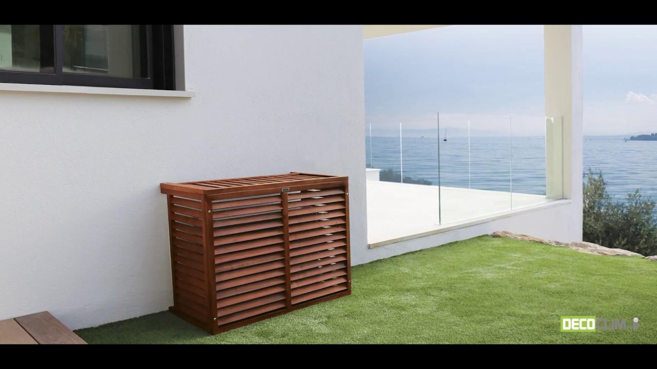 Comment Fabriquer Un Cache Climatiseur Exterieur decoclim, cacher votre climatiseur avec classe