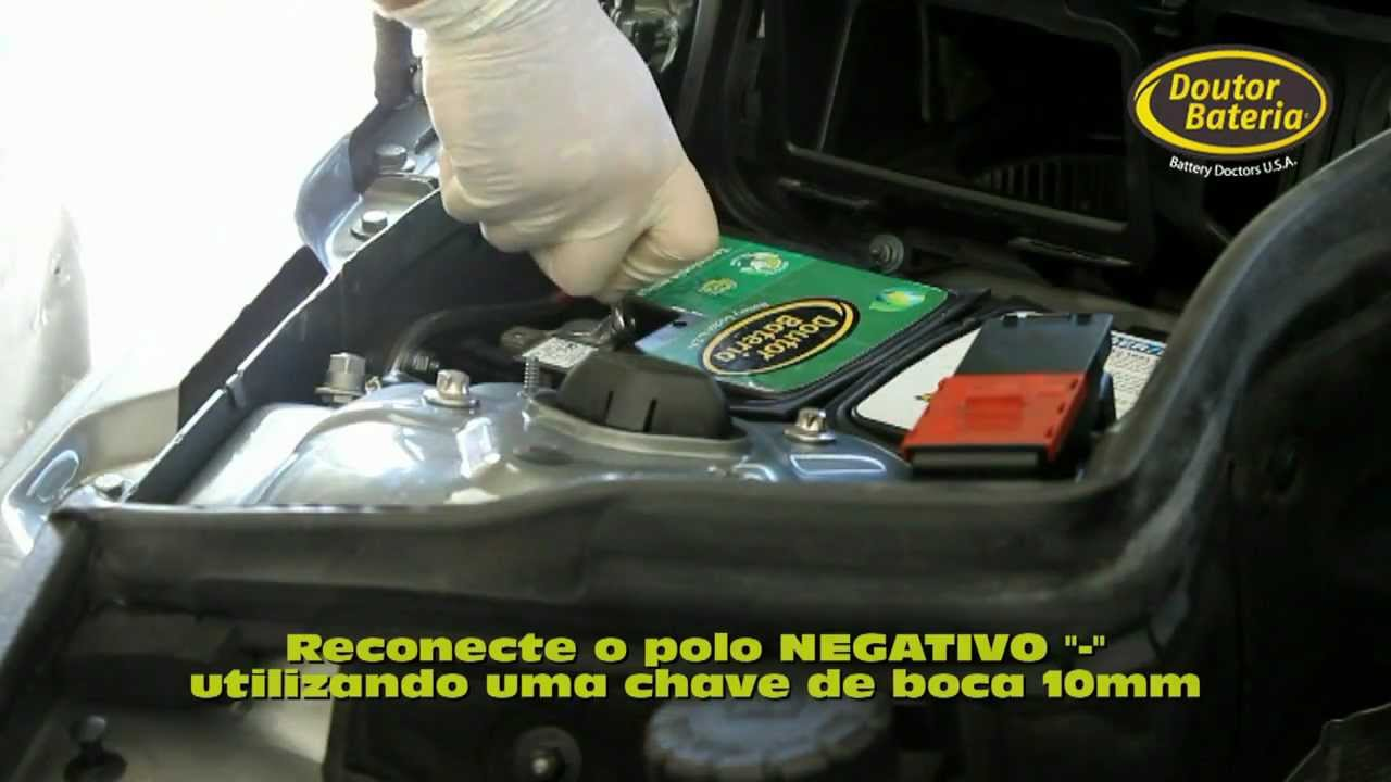 Trocando A Bateria Da Mercedes C180 2012 Doutor Bateria
