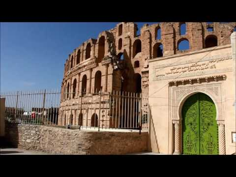 El Jem |  El Djem  | La tunisie | Tunisia |أيام الجم الرومانية