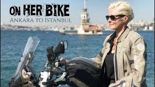 Turkey, Ankara to Istanbul. On Her Bike Around the World. Episode 17