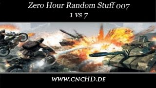 [C&C Zero Hour Random Stuff - 007] 1 vs 7 Hard Armys