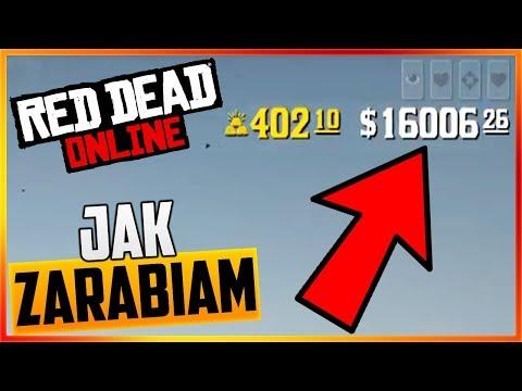 JAK ZARABIAM W RED DEAD ONLINE