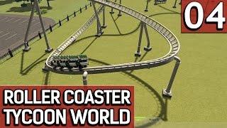 Roller Coaster Tycoon World BETA 1 #4 Wir bauen einen richtigen Coaster deutsch german HD