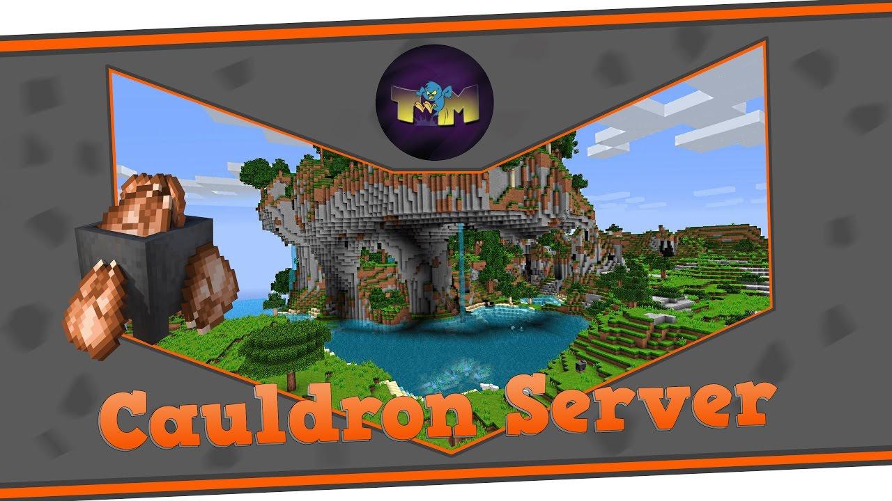 Minecraft Cauldron Server Erstellen Bukkit Forge YouTube - Minecraft server erstellen forge