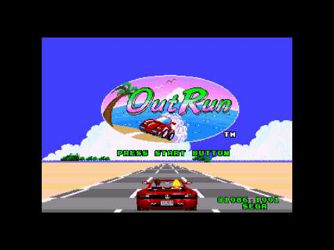 OutRun (Mega Drive) - Music: MAGICAL SOUND SHOWER