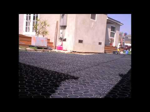 TRUEGRID Permeable Paver Residential Driveway - Easy to Instal! Highly Durable!