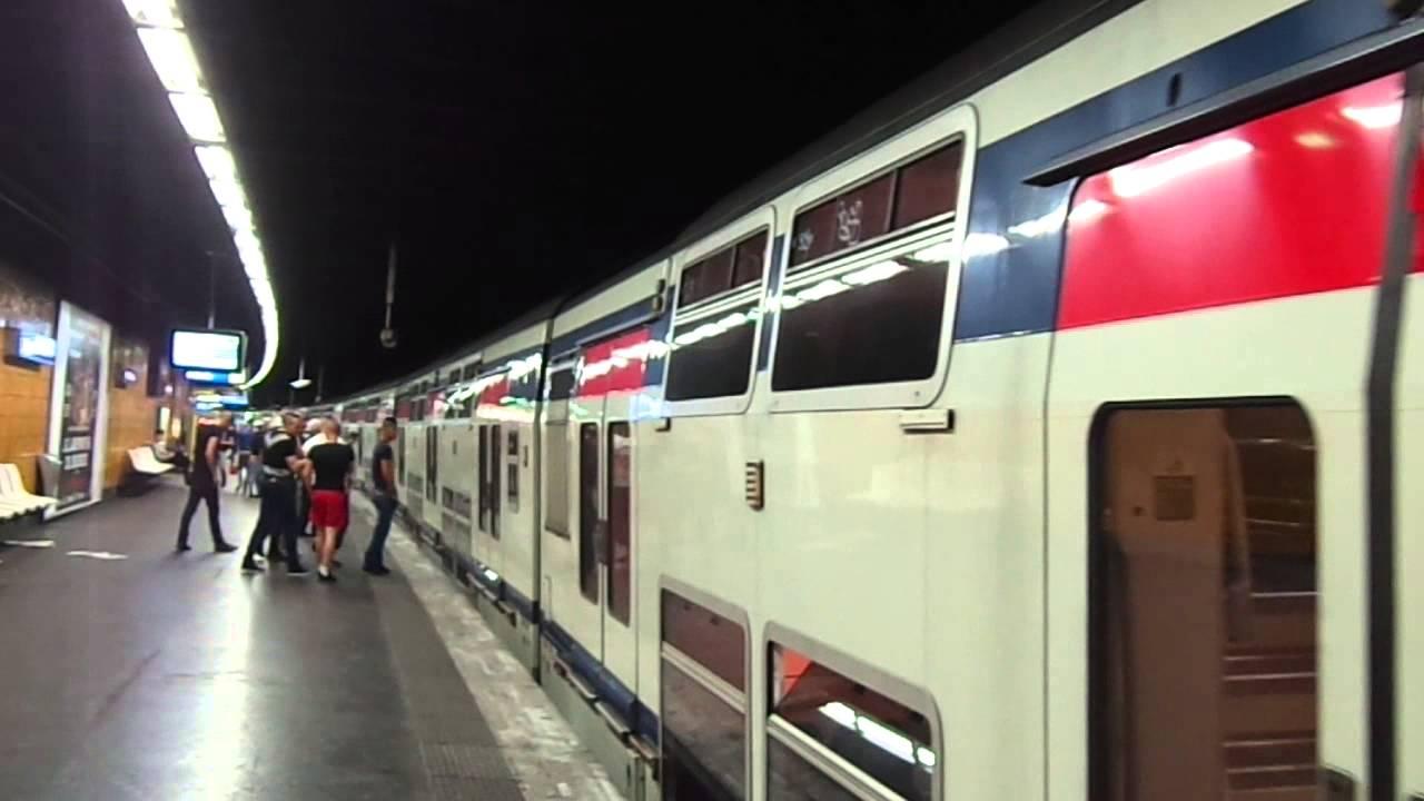 Paris RER A - MI2N et MI09 - Nogent sur Marne - YouTube