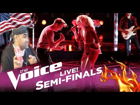 The Voice 2017 Chloe Kohanski & Noah Mac - Semifinals:
