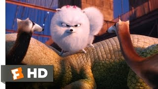 The Secret Life of Pets - Gidget Saves Max Scene (7/10) | Movieclips