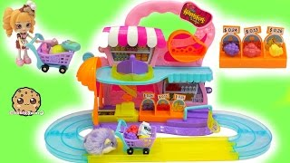Zuru Hamsters in a House Super Market Playset with Happy Places + Shopkins Blind Bags