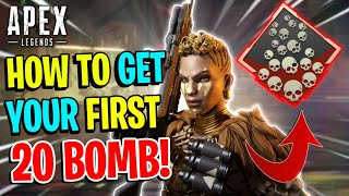 Tips To Get Your FIRST 20 KILL BADGE EASILY! - Apex Legends