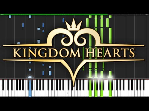 Hikari - Kingdom Hearts 2.8 [Piano Tutorial] (Synthesia) // Narutimate77